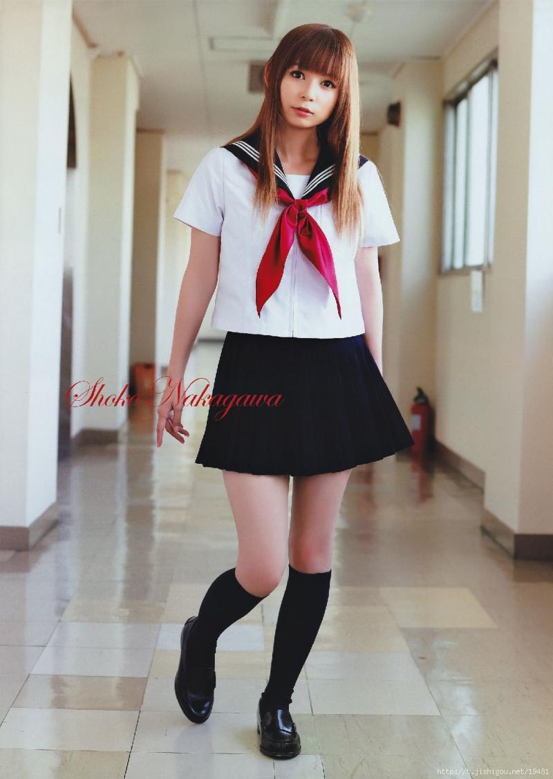 セーラー服の中川翔子